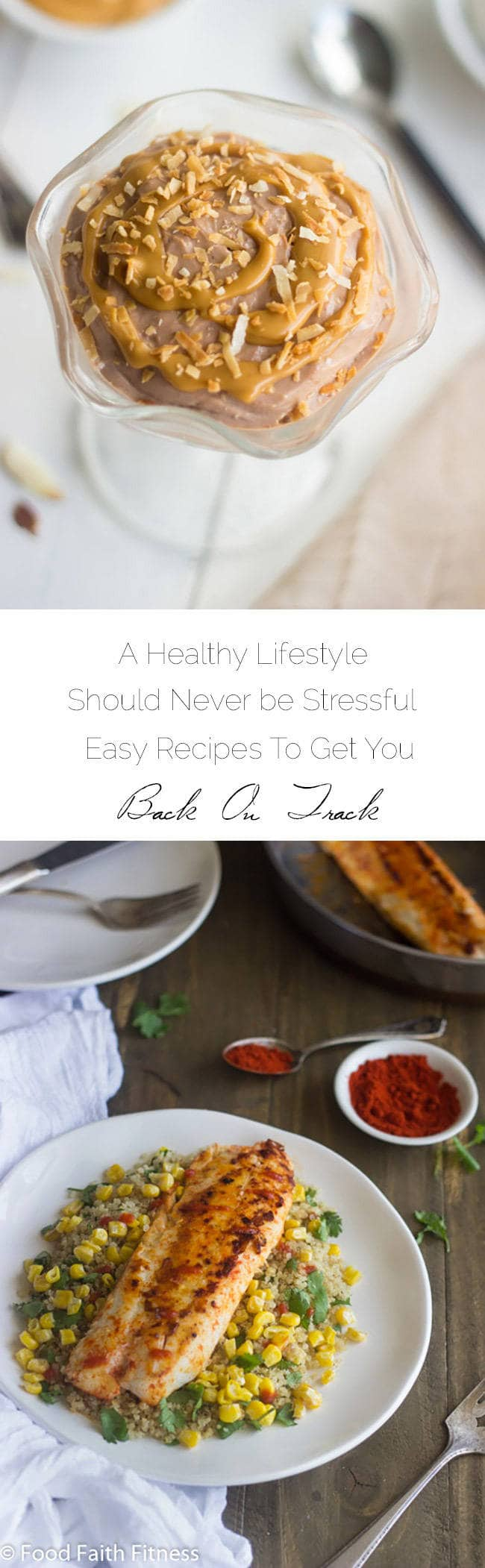 Healthy Eating Should Never Be Stressful - Simple recipes/tips to begin a healthy lifestyle this year! | Foodfaithfitness.com | #recipe