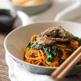 1FS kale orange beef