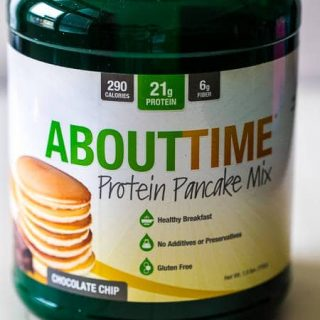 """About Time's"" Protein Pancake Mix and Protein Powder Review 