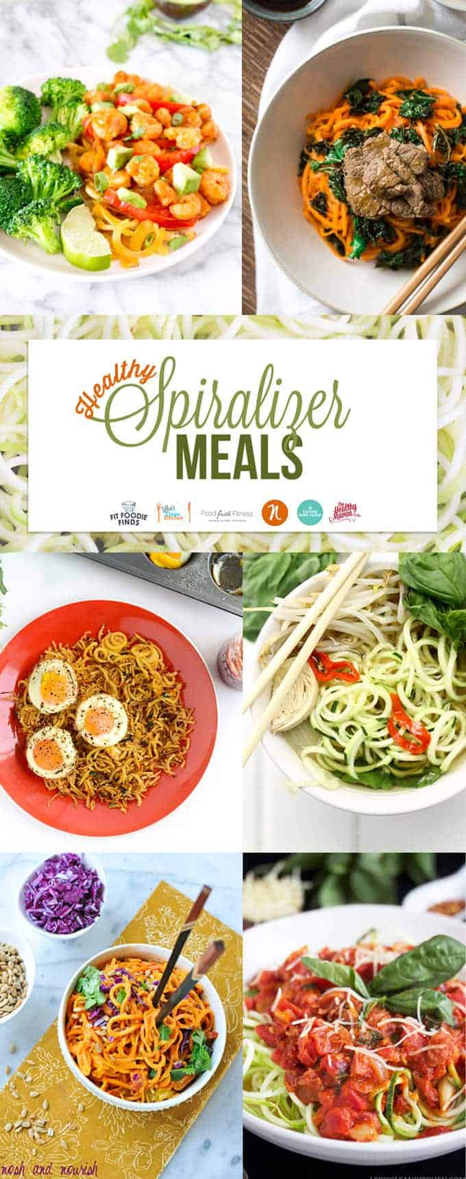 Healthy Paleo Spiralizer Meals Roundup | Foodfaithfitness.com | @FoodFaithFit