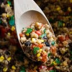 One Pan Mexican Quinoa Casserole In The Slow Cooker