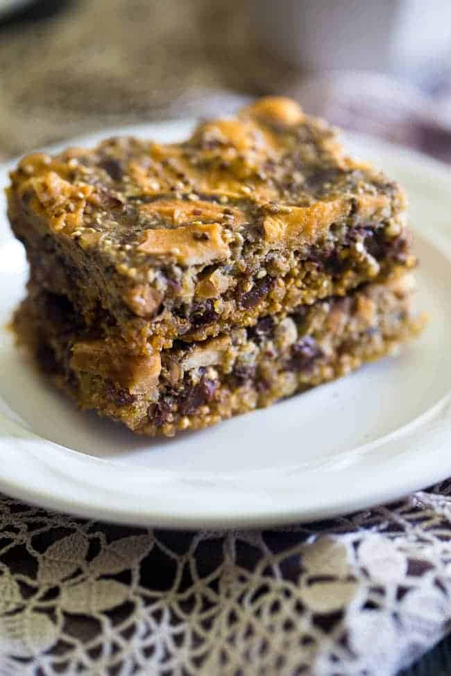 Slow cooker quinoa energy bar recipe food faith fitness for Food bar recipes