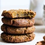 Paleo Breakfast Avocado Cookies with Kale (Vegan)