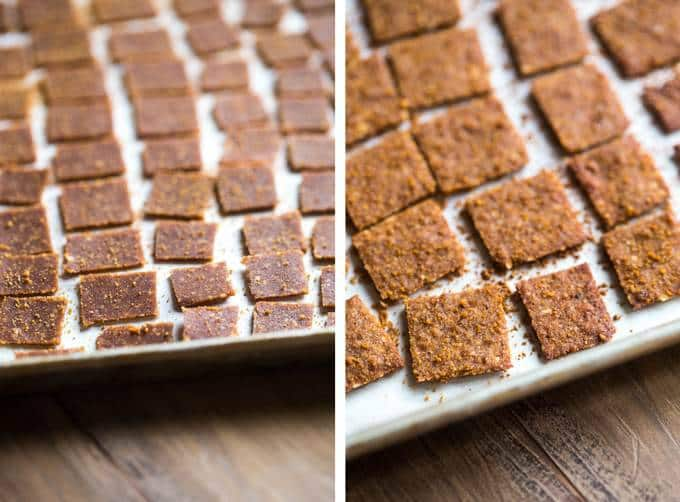 6 Ingredient Paleo Cinnamon Toast Crunch - This homemade cereal recipe tastes just like Cinnamon Toast Crunch but is gluten, grain, dairy and refined-sugar free! It's a healthy take on a childhood treat that is so easy to make! | Foodfaithfitness.com | @FoodFaithFit