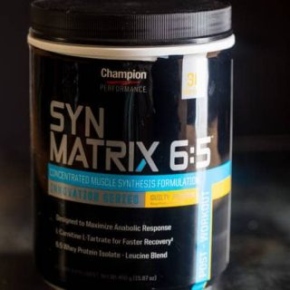 Champion Nutrition Syn Matrix 6:5 Review - Foodfaithfitness.com | @FoodFaithFit