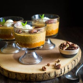 Pumpkin Pie Chia Pudding {Gluten Free + Super Simple}