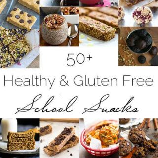 50+ Healthy, Gluten Free Back to School Snacks | Foodfaithfitness.com | @FoodFaithFit