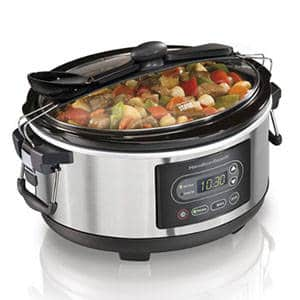 Hamilton Beach 5 Quart Programmable Stay or Go Slow Cooker