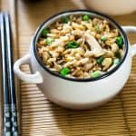 Easy Chicken Fried Rice {Gluten Free}