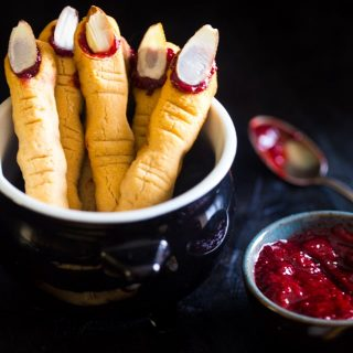 Paleo Witch Finger Cookies