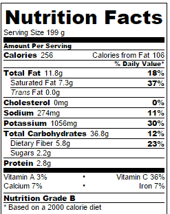 scalloped-sweet-potatoes-nutritional-information