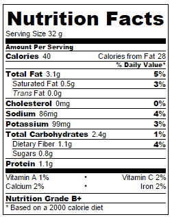 california-roll-nutritional-information