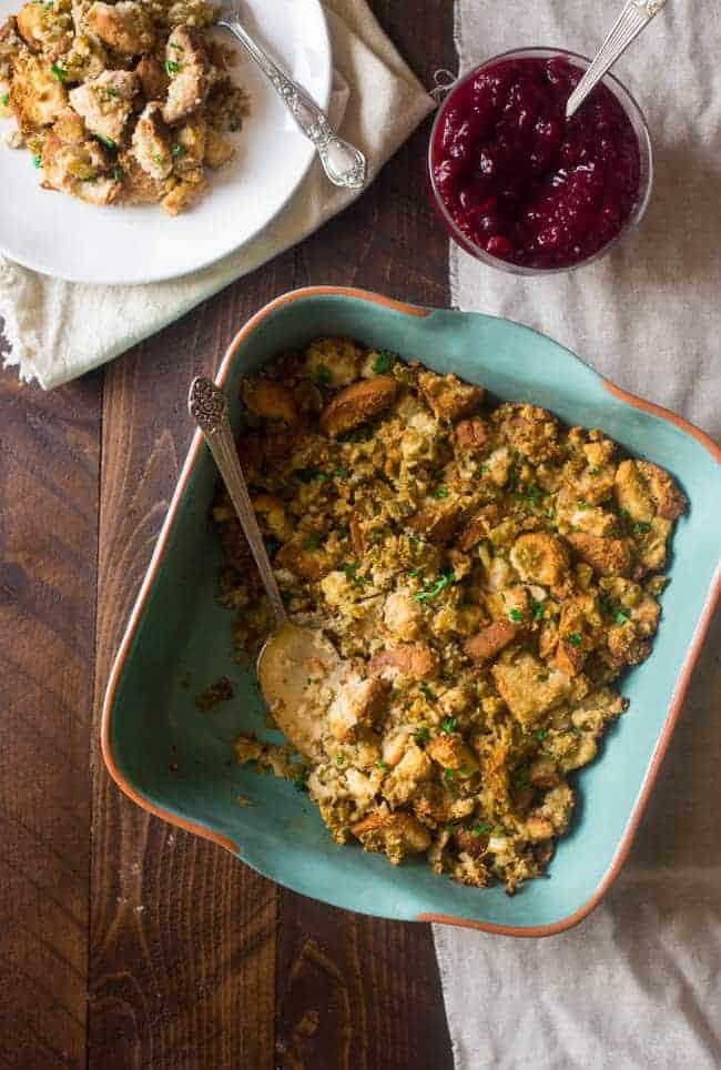 Gluten Free Stuffing  Foodfaithfitness.com   @FoodFaithFit