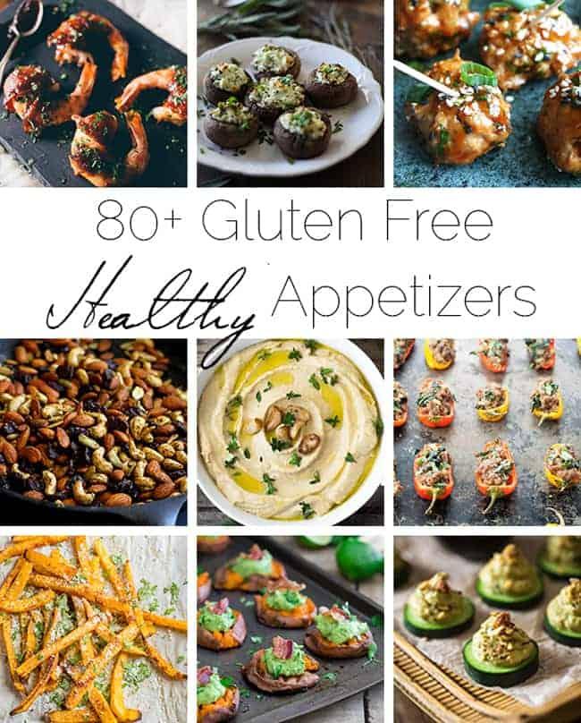 80+ Healthy, Gluten Free Appetizer Recipes | Foodfaithfitness.com | @FoodFaithFit