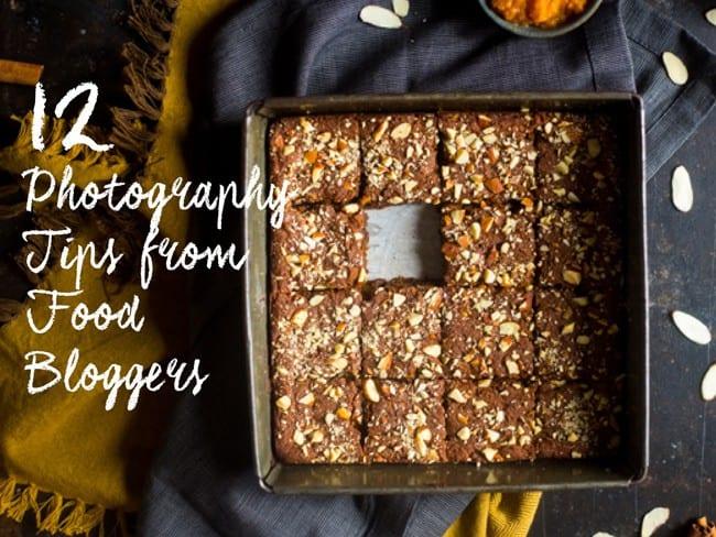 FREE 12 Food Photography Tips from Top Bloggers E-Book | Foodfaithfitness.com | @FoodFaithFit