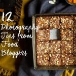 FREE 12 Food Photography Tips from Top Bloggers Ebook