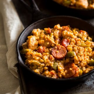 One-Pot Jambalaya {Gluten Free + Super Simple}