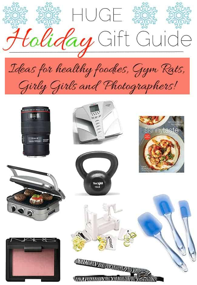 2015 Holiday Gift Guide for EVERYONE - Gifts for the budding photographer. healthie foodie, girly-girl and gym rat! | Foodfaithfitness.com | @FoodFaithFit