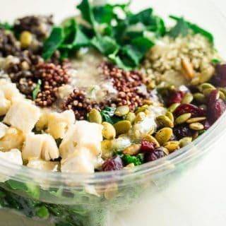 Portable, Delicious, Superfood-Packed Salads! | Foodfaithfitness.com | @FoodFaithFit