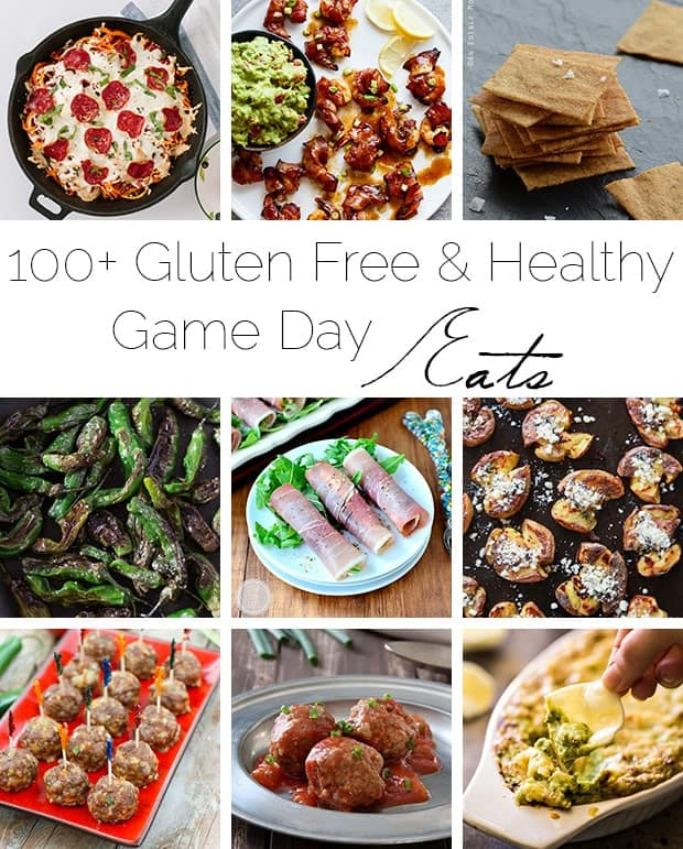 100+ Gluten Free and Healthy Game Days Eats! | Foodfaithfitness.com | @FoodFaithFit