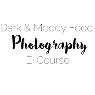 Dark and Moody Food Photography E-Course!