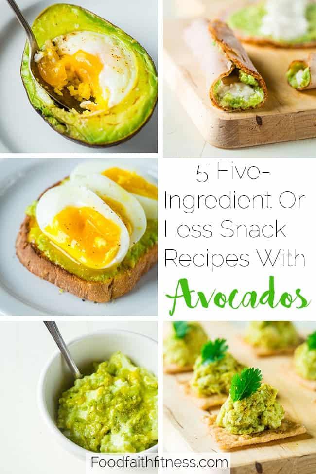 Healthy Snack Recipes with Avocado