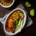 Chipotle Burrito Bowl with Chicken + Healthy Bowl Recipes {Paleo Option + Super Simple}