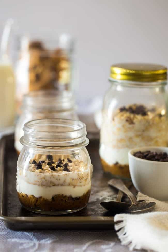 50+ Healthy, Gluten Free Overnight Oats Recipes - Wake up to a delicious, healthy breakfast already ready for you...all month long! | Foodfaithfitness.com | @FoodFaithFit