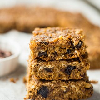 Slow Cooker Superfood Homemade Protein Bars {Vegan}