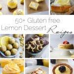 50+ Gluten free Lemon Desserts
