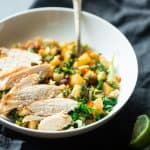 Honey Lime Chicken and Nourish Bowls