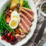 Asian Nicoise Salad