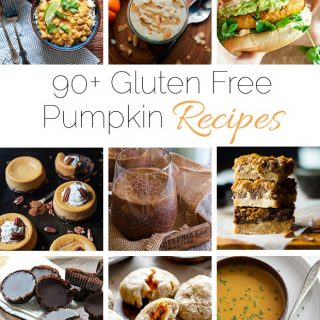 90+ Healthy Gluten Free Pumpkin Recipes - A collection of over 90 healthy, gluten free pumpkin recipes from breakfast to dessert! | Foodfaithfitness.com | @FoodFaithFit