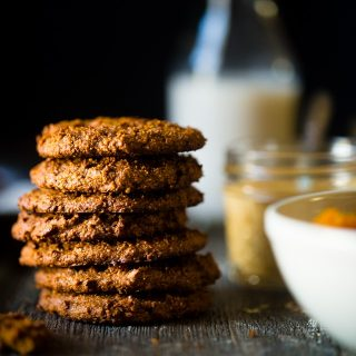 Pumpkin Paleo Cookies with 6 Ingredients