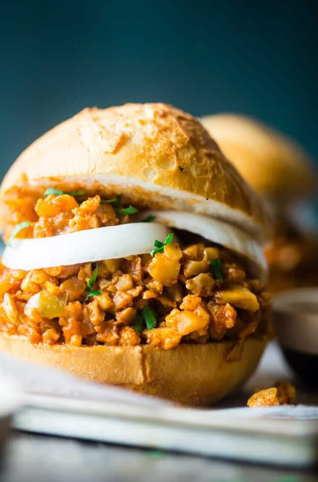Vegan Sloppy Joes With Cauliflower Food Faith Fitness