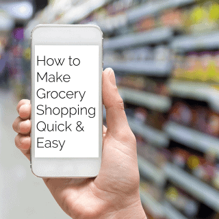 How to Make Grocery Shopping Quick and Easy