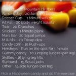 Work Off The Chocolate Workout
