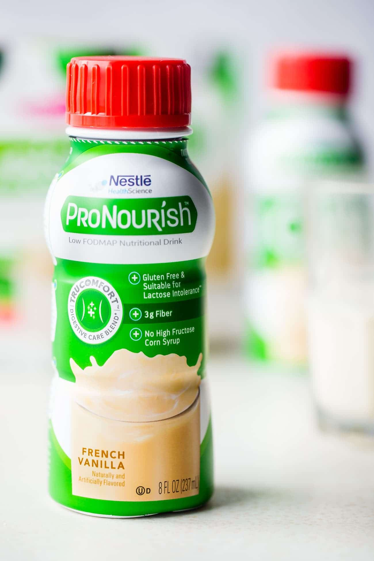 ProNourish - A nutritional drink that is packed with protein and perfect for those on the Low FODMAP diet! | Foodfaithfitness.com | @FoodFaithFit