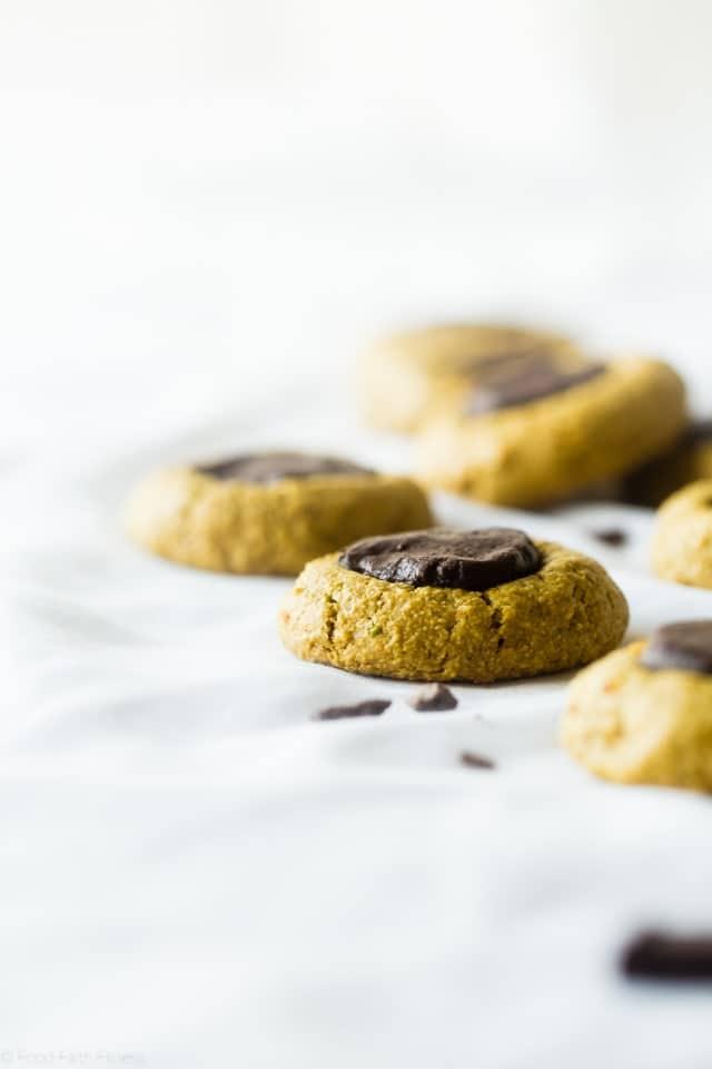 Chocolate Mint Avocado Cookies