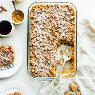 Eggnog Snickerdoodle Baked French Toast Casserole