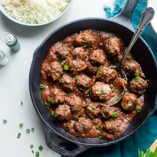 Whole30 Sweet and Sour Paleo Meatballs