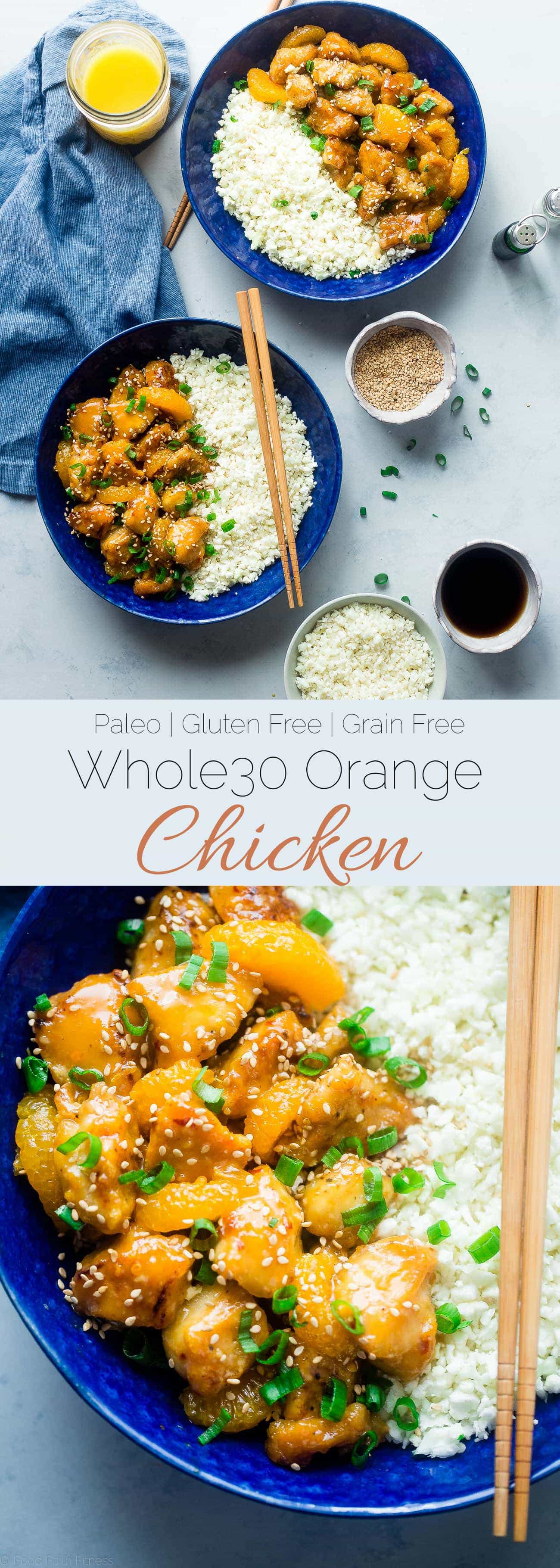 Paleo orange chicken food faith fitness whole30 orange chicken this 30 minute paleo orange chicken is so much better and forumfinder Gallery