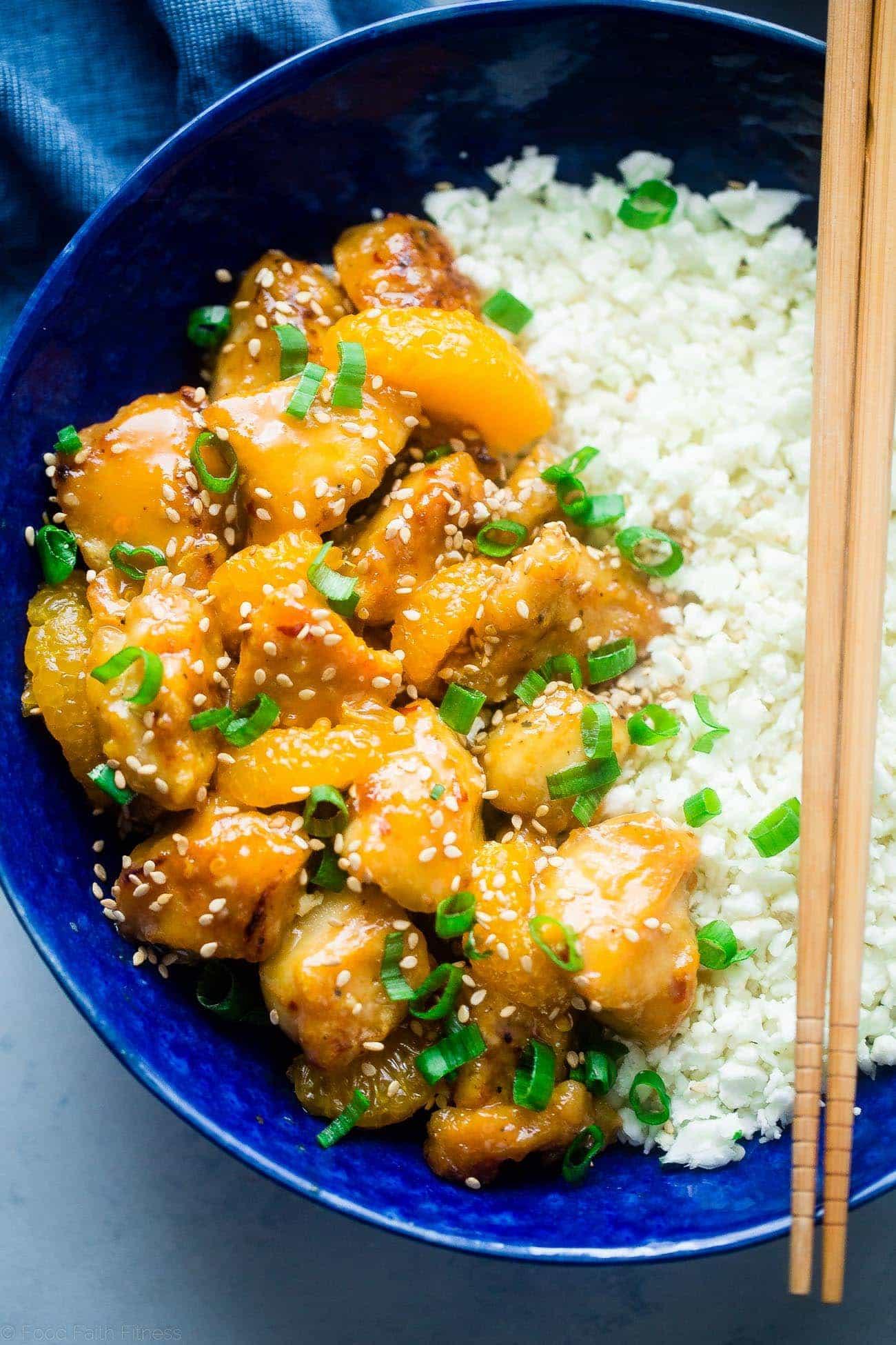 Paleo Orange Chicken Food Faith Fitness