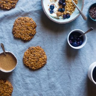 Healthy Oatmeal Breakfast Cookies with Granola
