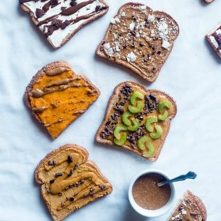 Easy Vegan Cookie Dough Toast + 4 Dessert Inspired Breakfast Toasts