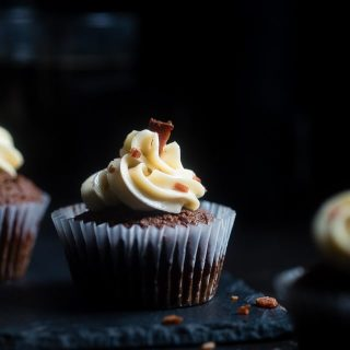 Bacon Beer Cupcakes