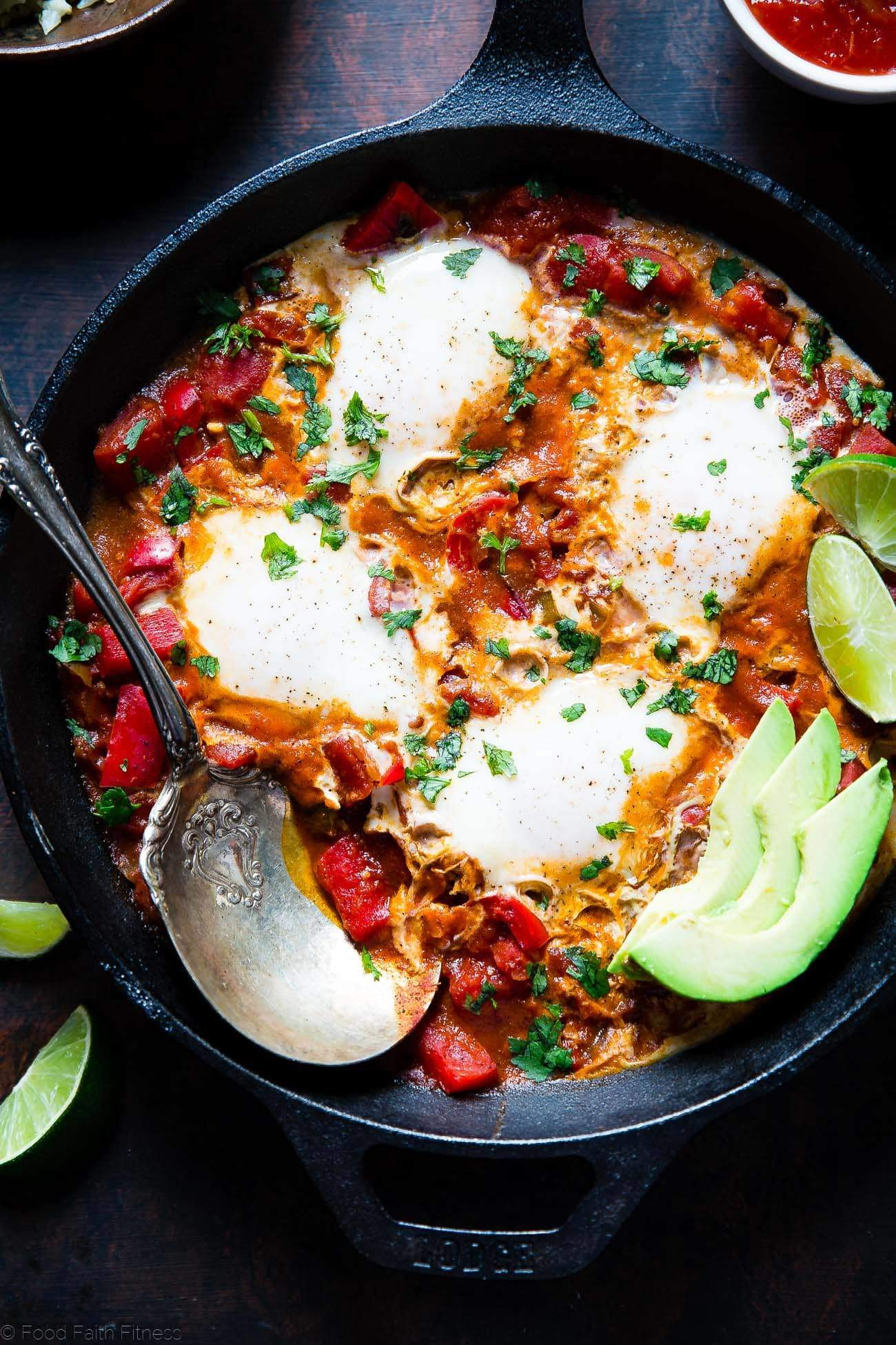 Mexican shakshuka recipe food faith fitness whole30 mexican shakshuka this quick and easy gluten free shakshuka recipe has a little forumfinder Image collections