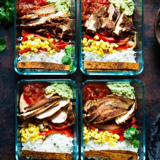 Chicken Burrito Bowl for Meal Prep