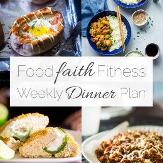 Food Faith Fitness Weekly Dinner Plan –  Week 2