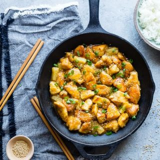 Firecracker Pineapple Chicken